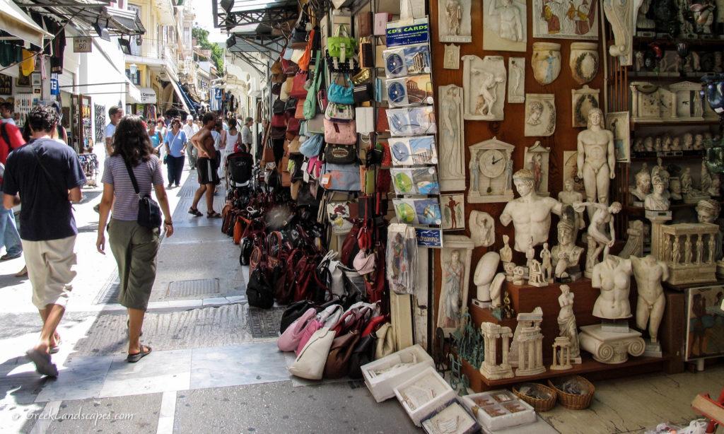 Monastiraki market in Athens