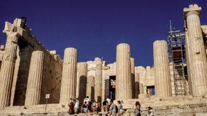 Propylaea of the Acropolis of Athens