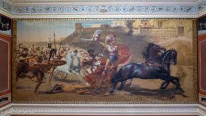 Achiles dragging dead Hector