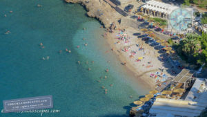 Arvanitia beach in Nafplio