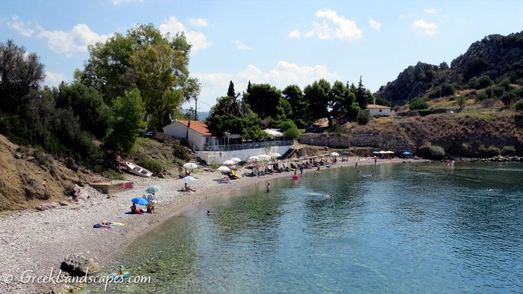 Asine beach