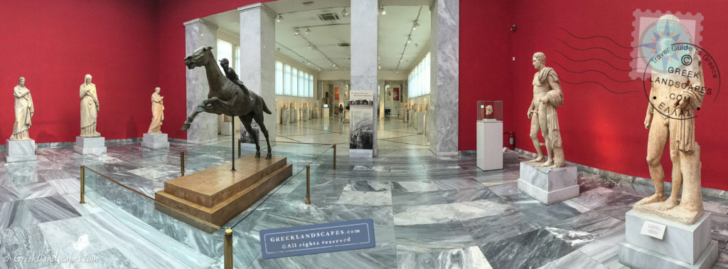 National museum of Athens interior
