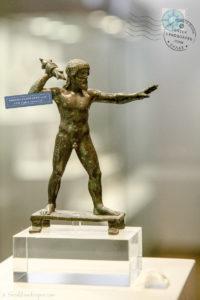 Bronze Zeus from Dodona sanctuary