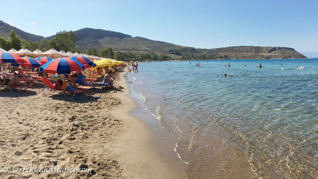 Karathonas beach