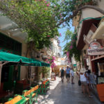 street view of Nafplio old town