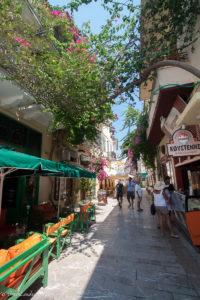 street view of Nafplio old town