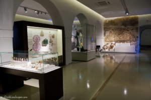Interior view of Nafplio Archaeological Museum