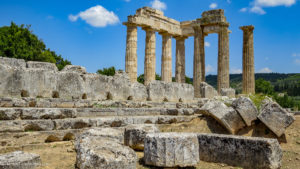 Nemea temple of Zeus