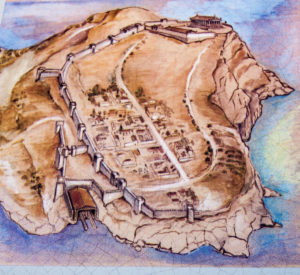 Ancient Sounion reconstruction