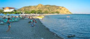 Agia Galini beach view