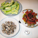 Three Cretan dishes