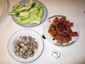 Three Cretan dishes