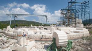Tholos, or Thymele at Epidaurus Sanctuary