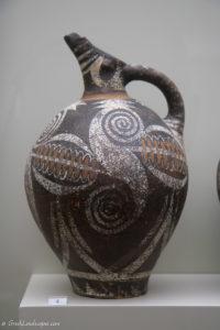 Ceramic jug at the Heraklion Archaeological Museum