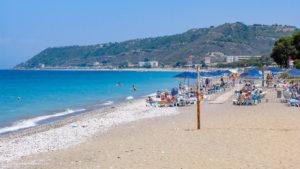 Ixia beach, Rhodes island