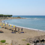 Kamiros beach in Rhodes