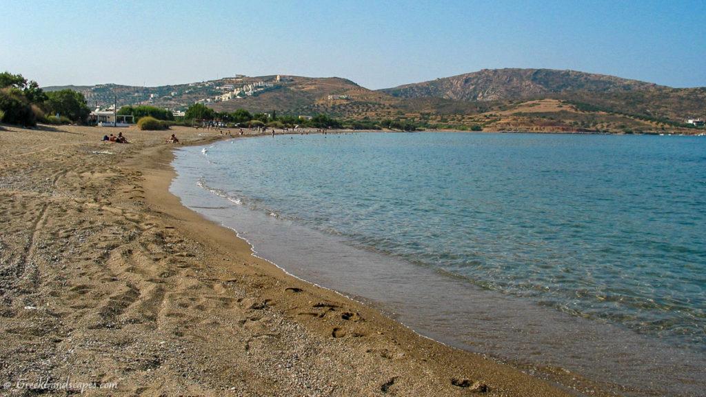 View of Kouremenos beach