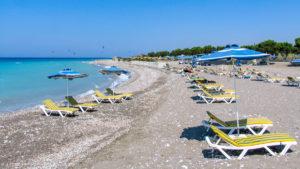 Kremasti beach
