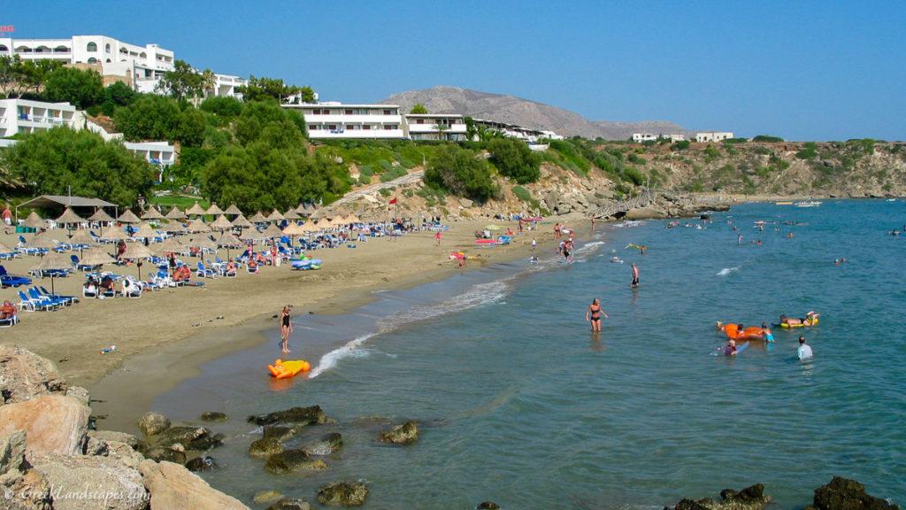 Makrigialos beach