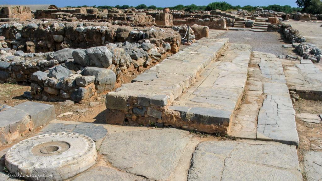 Ruins of Malia palace