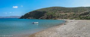 View of Maridati beach