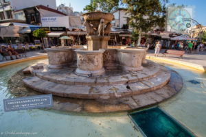 Morosini fountain in Lions Square in Heraklion
