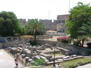 Temple of Aphrodite ruins