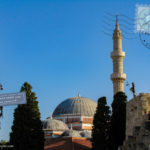 Suleiman mosque in Rhodes old town