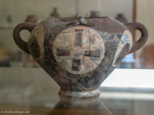 Ceramic Vase at the Archaeological Museum of Sitia