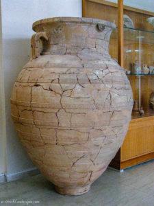 Large scale ceramic vessel