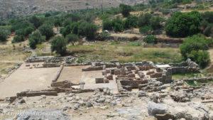 Zakros palace ruins