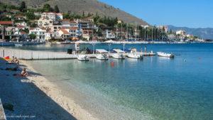 Agia Effimia beach in Cefalonia
