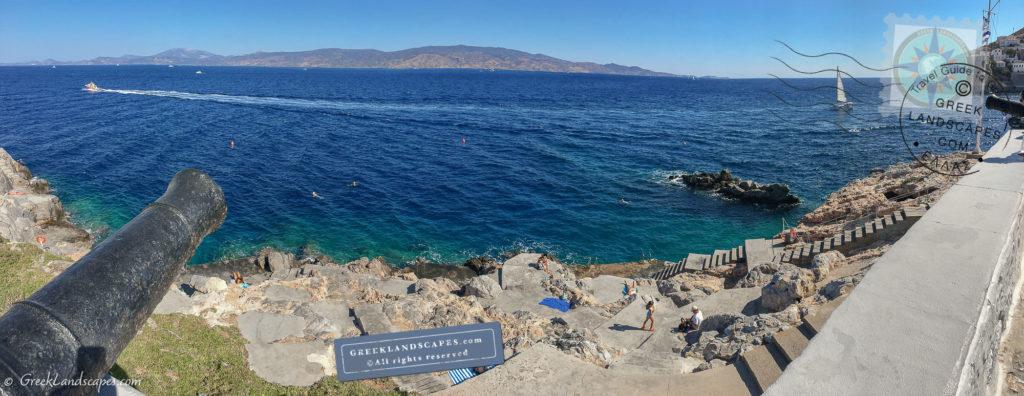Hydra beach