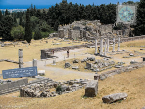 Ancient ruins at Asklepieion of Kos