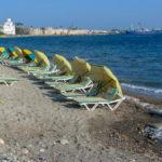 Kos town beach