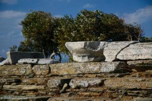 Ancient column capital
