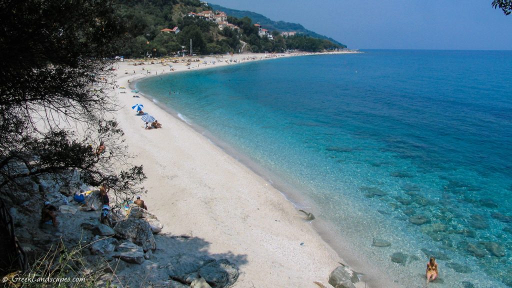 General view of Papa Nero beach