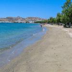 Sandy beach of Papinikou