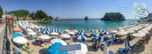 Panoramic view of Krioneri beach