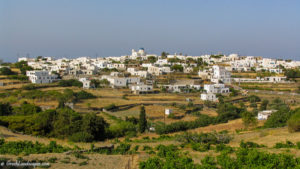 Apollonia town atop the hill