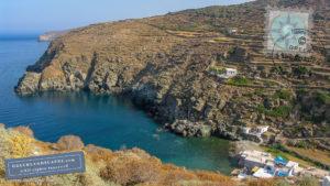 Blue-green water in Seralia beach
