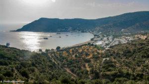 View of Vathi beach resort