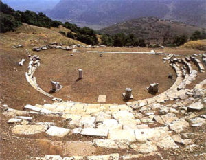 ancient Orchomenos theater