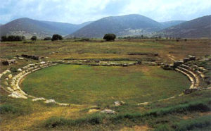 Mantineia ancient theater