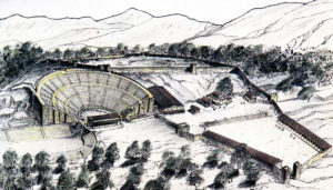 Reconstruction drawing
