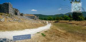 View of Dodoni theatre and stadium