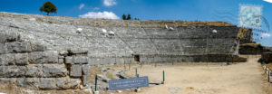Dodoni theatre orchestra and seats
