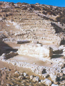 The theater of Koufonisi in Lasithi