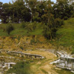 Ruins of Sparta's ancient theatre