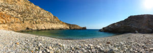 View of Livadaki beach